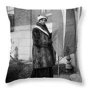 Alice Paul (1885-1977) Throw Pillow