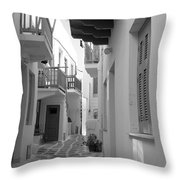 Alley Way Throw Pillow