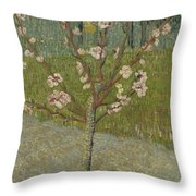 Almond Tree In Blossom Arles, April 1888 Vincent Van Gogh 1853 - 1890 Throw Pillow