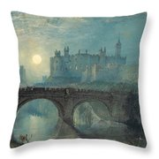 Alnwick Castle Throw Pillow