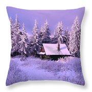 Alpine Hideaway Throw Pillow