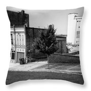 Alton Street In Black And White  Throw Pillow