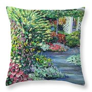 Amelia Park Pathway Throw Pillow