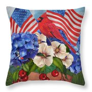America The Beautiful-jp3210 Throw Pillow