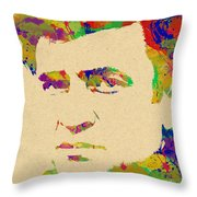 American Legend Johnny Cash Throw Pillow