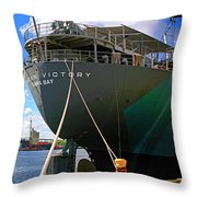 American Victory Throw Pillow