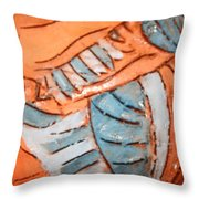 Amuweeke - Tile Throw Pillow