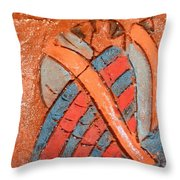 Amuweese - Tile Throw Pillow