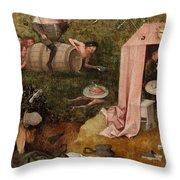 An Allegory Of Intemperance Throw Pillow