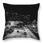 An Evening In Baltimore Throw Pillow