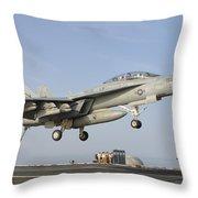 An Fa-18e Super Hornet Makes An Throw Pillow