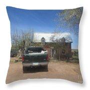 An Historical Concho House Throw Pillow