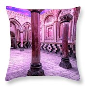 Ancient Evening Throw Pillow