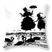 Andersen: Ugly Duckling Throw Pillow