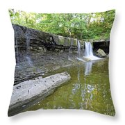 Anderson, Falls, Indiana Throw Pillow