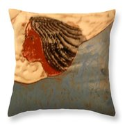 Angel - Tile Throw Pillow