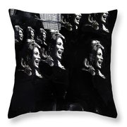 Angie Dickinson Young Billy Young Many Angies Old Tucson Arizona 1968-2013 Throw Pillow