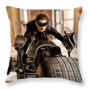 Ann Hathaway Collection Throw Pillow