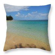 Annini Beach Throw Pillow