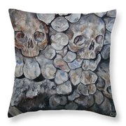 Another Brick In The Wall Throw Pillow