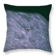 Apollo Mission 16 Throw Pillow