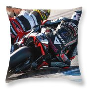Aprilia Racing Team Gresini Throw Pillow