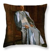 Archbishop Diomede Falconio Throw Pillow