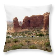 Arches National Park 23 Throw Pillow