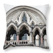 Arches Over The Court Throw Pillow