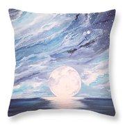Arctic Sky Throw Pillow