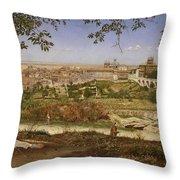 Ariccia, Near Rome, Italy Throw Pillow