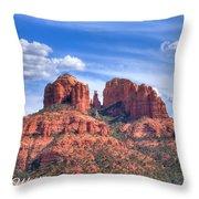 Arizona-sedona-red Rock State Park Throw Pillow