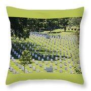 Arlington Cemetery Throw Pillow