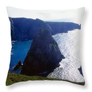 Arranmore Island, County Donegal Throw Pillow