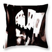 Art Gallery Prints Throw Pillow