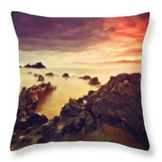 Art Of Landscape Throw Pillow