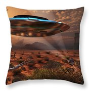 Artists Concept Of Stealth Technology Throw Pillow
