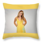 Ashley Tisdale Throw Pillow