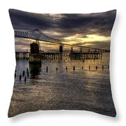 Astoria-megler Bridge 5 Throw Pillow