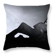 At Peace Now Throw Pillow
