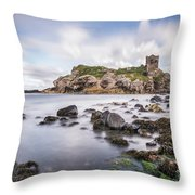At The Dreamscape Ruins Throw Pillow