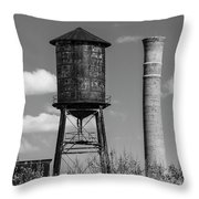 Atlanta Water Tower Throw Pillow
