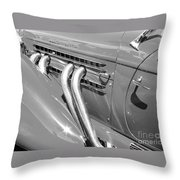 Auburn Boattail Speedster Throw Pillow