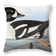Audubon Duck Throw Pillow