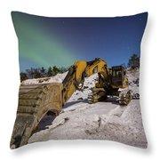 Aurora Machine Throw Pillow