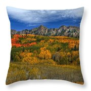 Autumn Crown Throw Pillow
