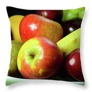 Autumn Fruit. Throw Pillow