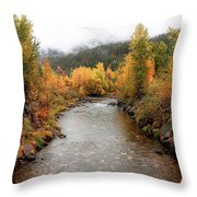 Autumn Is In The Air Throw Pillow