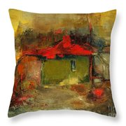 Autumn Rhapsody Throw Pillow