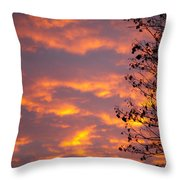Autumn Sky Throw Pillow by Konstantin Dikovsky